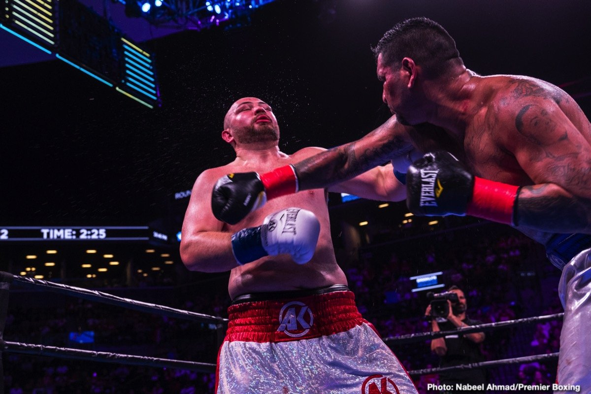 Marcus Browne - Heavyweights Adam Kownacki and Chris Arreola went to war on Saturday night in a that smashed the CompuBox record for most punches landed. It was a real fun fight to watch, Kownacki (20-0, 15 KOs) defeated a surprisingly fresh 38-year-old Arreola (38-6-1, 33 KOs) by a 12 round unanimous decision on Premier Boxing Champions on Fox at the Barclays Center in Brooklyn, New York. The scores were 118-110, 117-111, and 117-111.