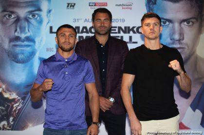 Luke Campbell Vasiliy Lomachenko Boxing News British Boxing Top Stories Boxing
