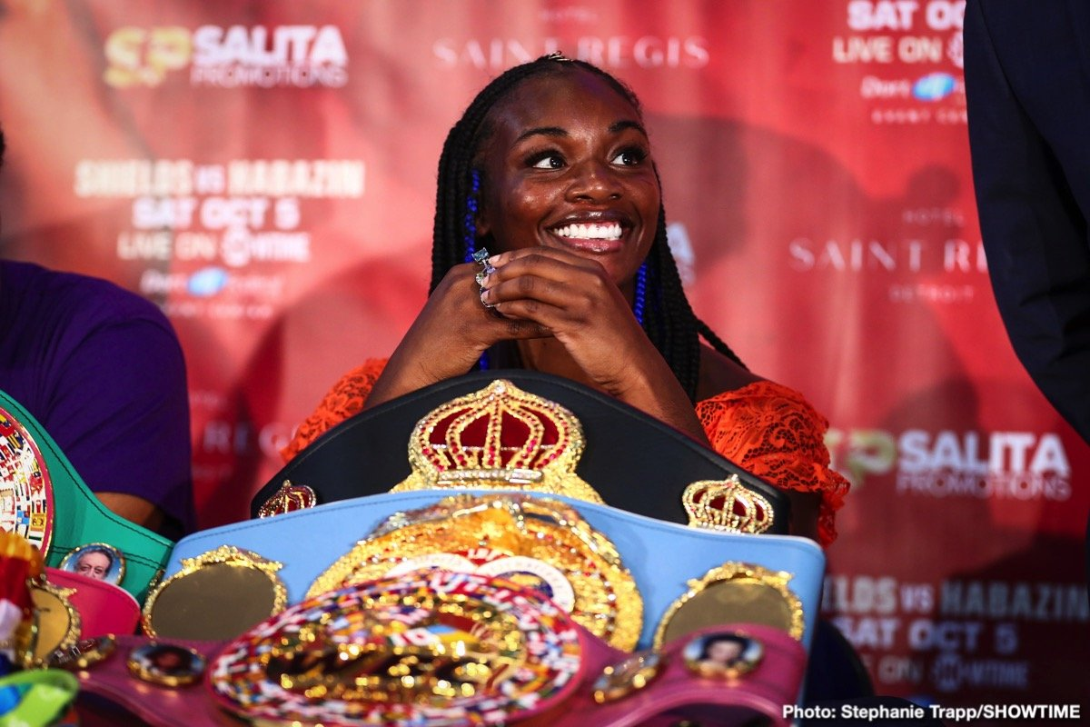 Chantelle Cameron, Savannah Marshall - Savannah Marshall is characteristically cool when summing up her face-to-face meeting with rival Claressa Shields.
