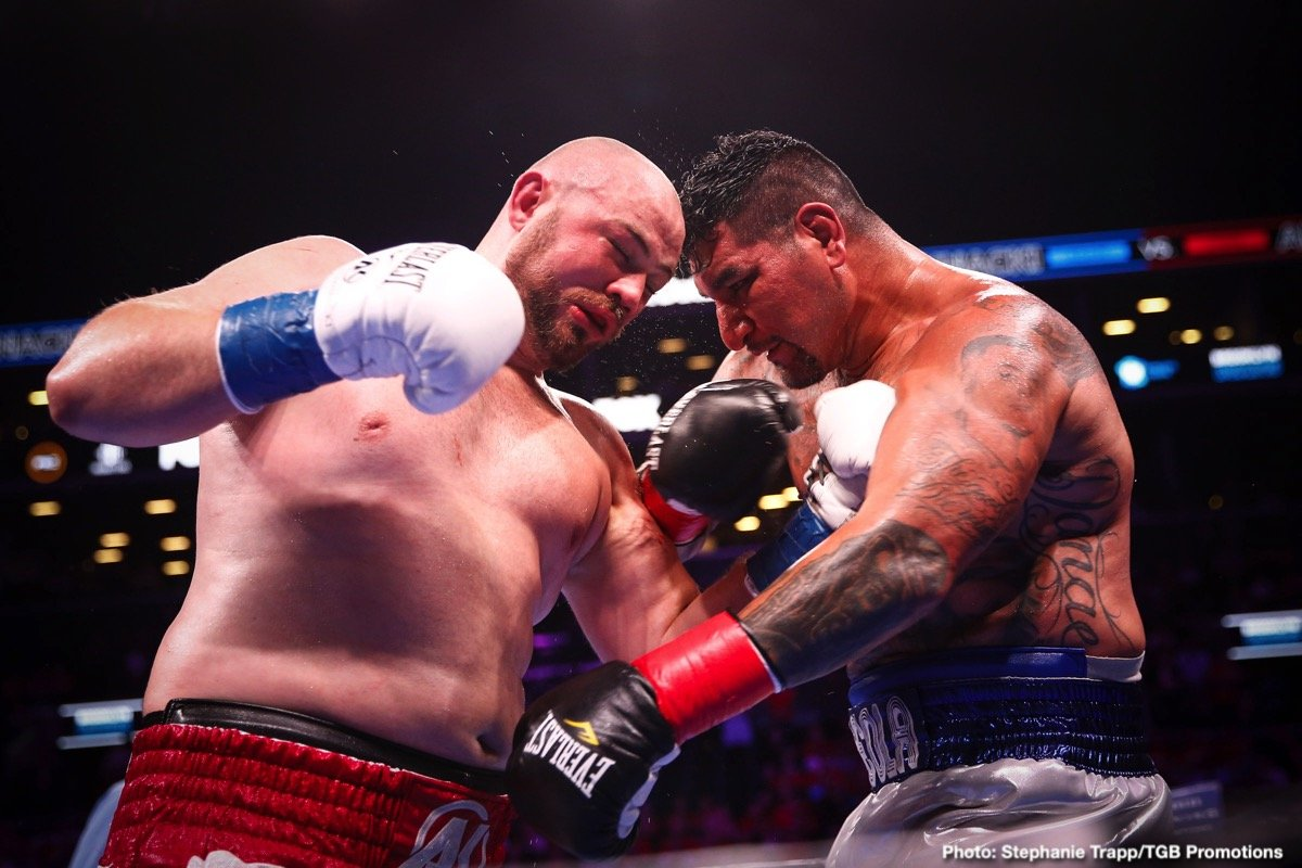 Chris Arreola - We saw a few great heavyweight battles unfold in 2019. For many, the first battle between Andy Ruiz and Anthony Joshua was the best heavyweight fight of the year. It was certainly the biggest heavyweight upset, if not upset, period, regardless of weight class. But the award for best heavyweight slugfest of 2019 goes to the 12-round punch-a-thon warriors Adam Kownacki and Chris Arreola gave us in August.
