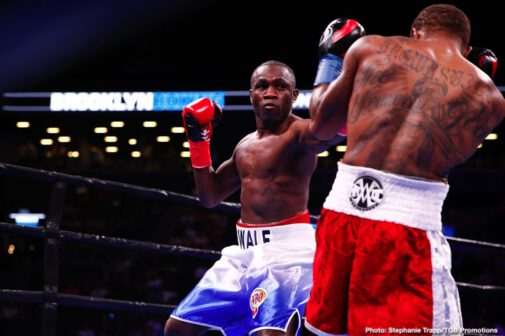 """Adam Kownacki, Chris Arreola, Curtis Stevens, Jean Pascal, Marcus Browne, Wale Omotoso - Unbeaten Polish star and Brooklyn native Adam Kownacki (20-0, 15 KOs) earned a unanimous decision over Chris """"The Nightmare"""" Arreola (38-6-1, 33 KOs) in an all-action brawl in front of his hometown fans that headlined FOX PBC Fight Night main event and on FOX Deportes Saturday night from Barclays Center, the home of BROOKLYN BOXING™."""