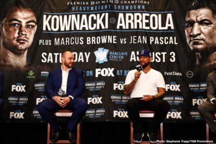 Adam Kownacki, Chris Arreola, Curtis Stevens, Jean Pascal, Marcus Browne - Boxing News