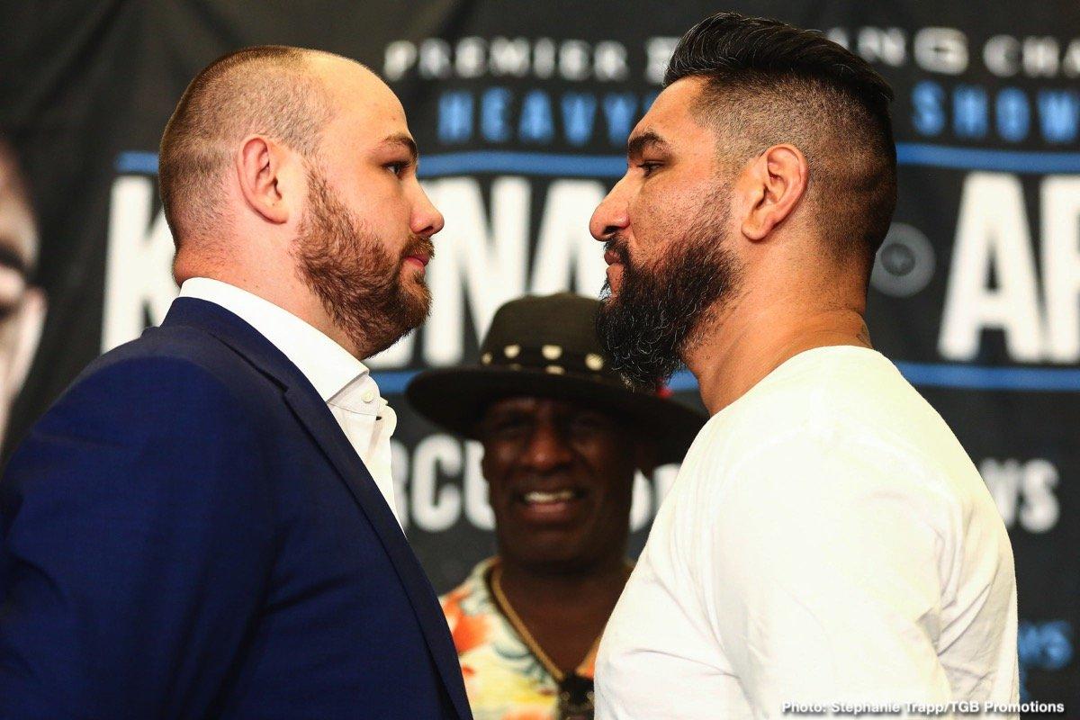 Adam Kownacki, Chris Arreola - Boxing News