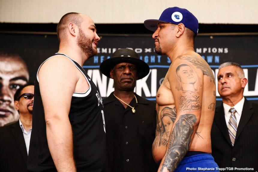 Adam Kownacki, Chris Arreola, Otto Wallin, Tyson Fury - Boxing News
