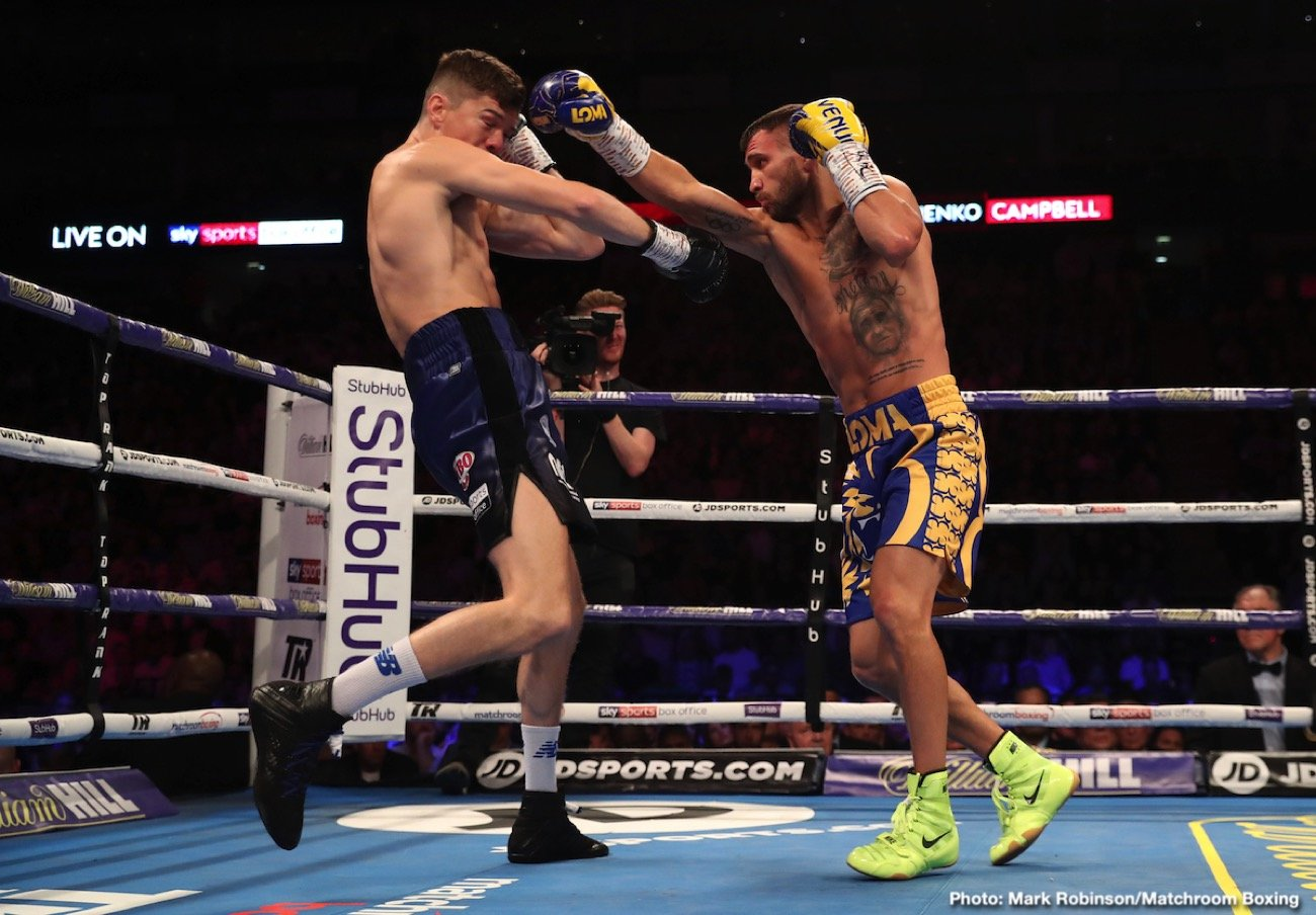 Amir Khan, Teofimo Lopez, Vasiliy Lomachenko - Amir 'King' Khan says he knows how to beat Vasily Lomachenko from his experience fighting against old Ukrainian amateurs in the distant past. Khan says you have to beat the 32-year-old Lomachenko at his own game.