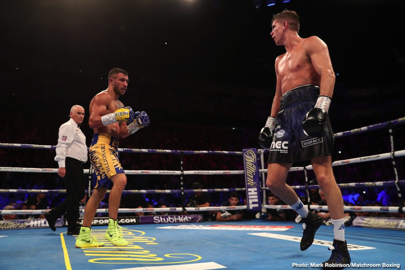 Teofimo Lopez, Vasily Lomachenko - Vasiliy Lomachenko says the contract for his October 3 clash against Teofimo Lopez should be signed by this week. This is great news for boxing fans, given the reports of IBF lightweight champion Teofimo (15-0,12 KOs) being unhappy with the purse that was offered to him.
