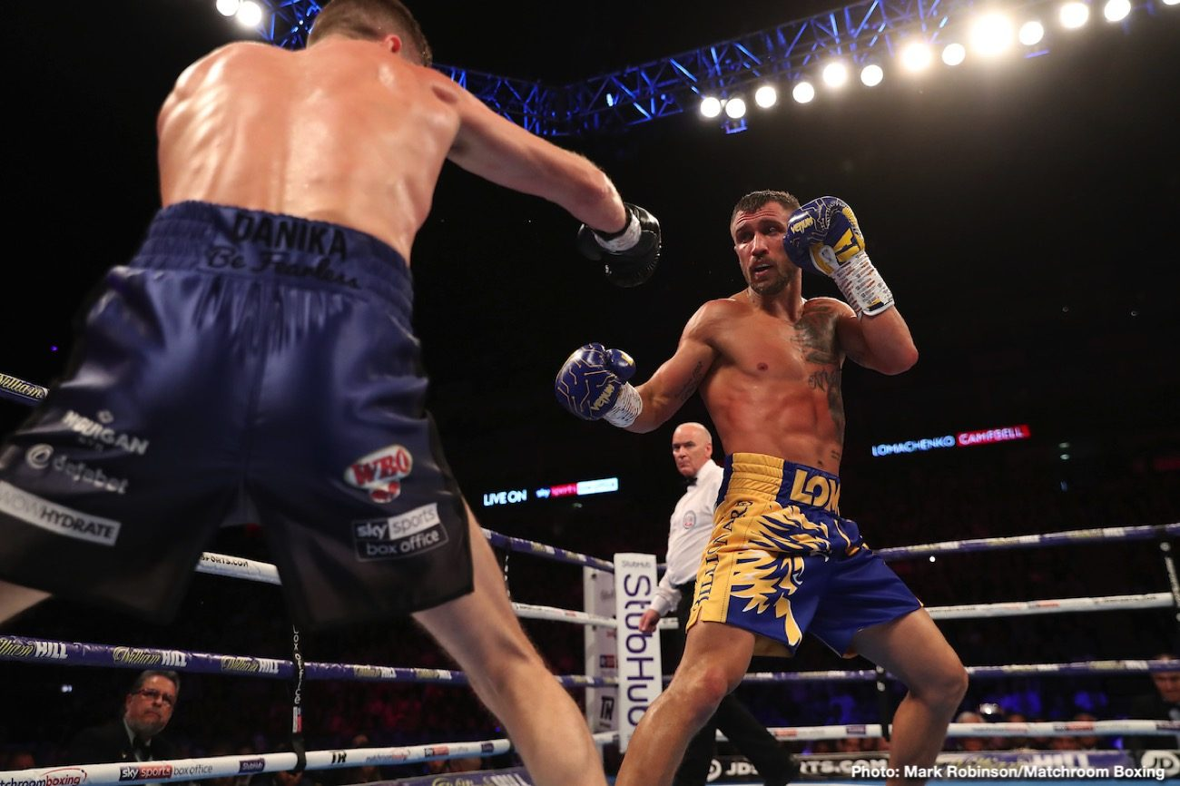 Teofimo Lopez, Vasiliy Lomachenko - Shawn Porter thinks that IBF lightweight champion Teofimo Lopez isn't ready to take on a fighter as seasoned as Vasiliy Lomachenko right now, and he can't see him winning their October 3 unification contest this early in his career.
