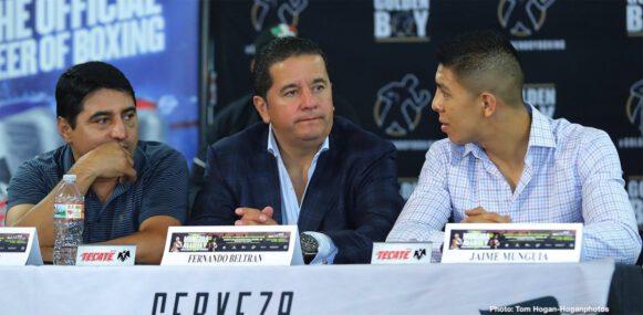 Avery Sparrow, Jaime Munguia, Oscar De La Hoya, Patrick Allotey, Ryan Garcia - Boxing News