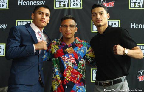 Antonio Orozco, Hector Tanajara, Joshua Franco, Oscar Negrete, Vergil Ortiz - Boxing News