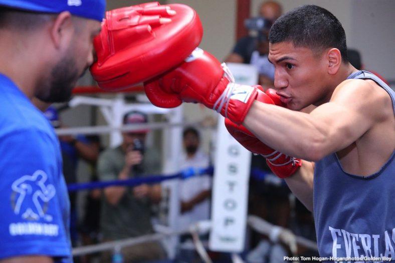 Antonio Orozco Hector Tanajara Joshua Franco Tristan Kalkrueth Vergil Ortiz Boxing News