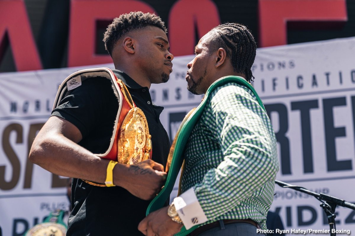 Errol Spence Josh Taylor Otto Wallin Regis Prograis Shawn Porter Tyson Fury Boxing News