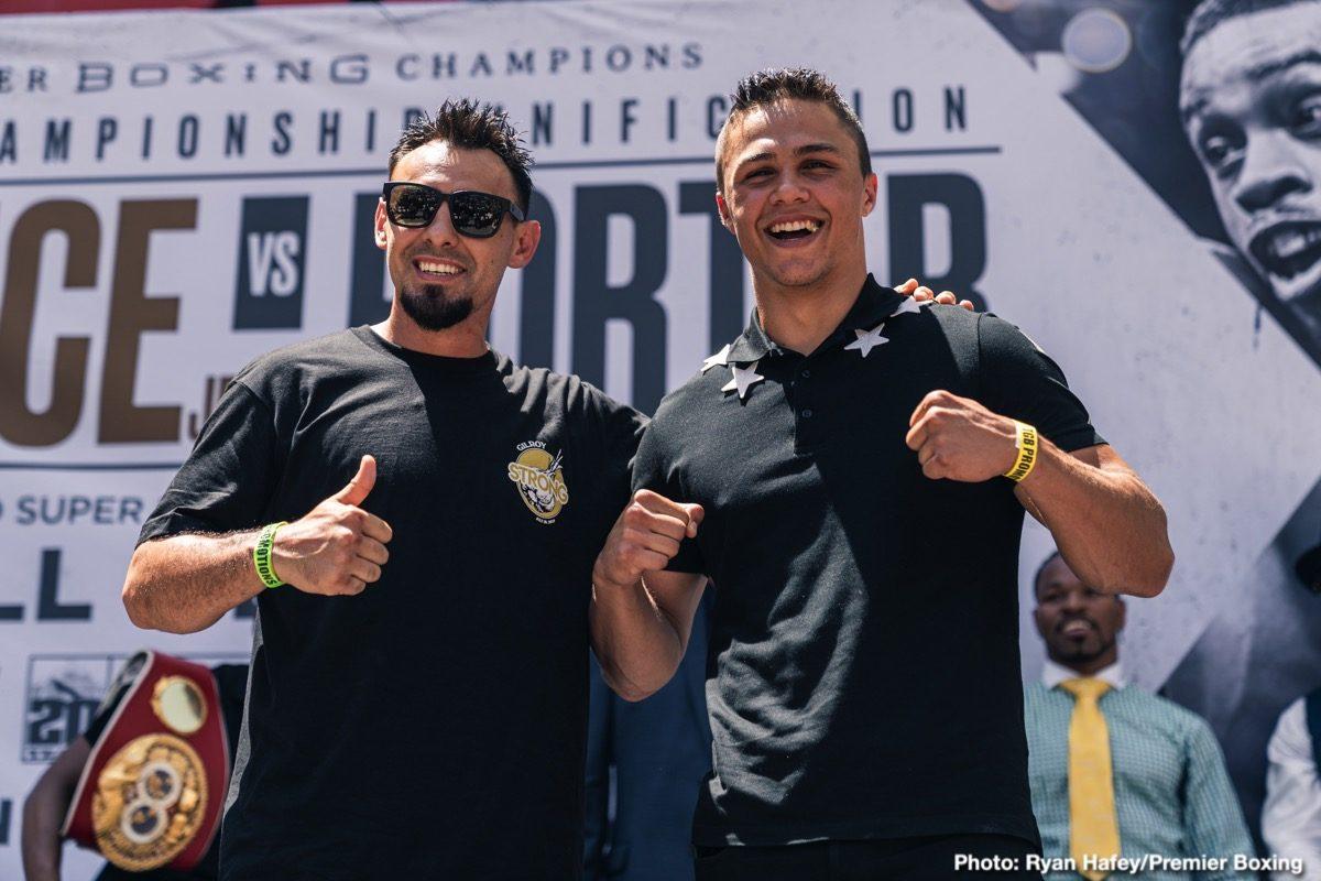 David Benavidez Errol Spence John Molina Josesito Lopez Robert Guerrero Shawn Porter Boxing News