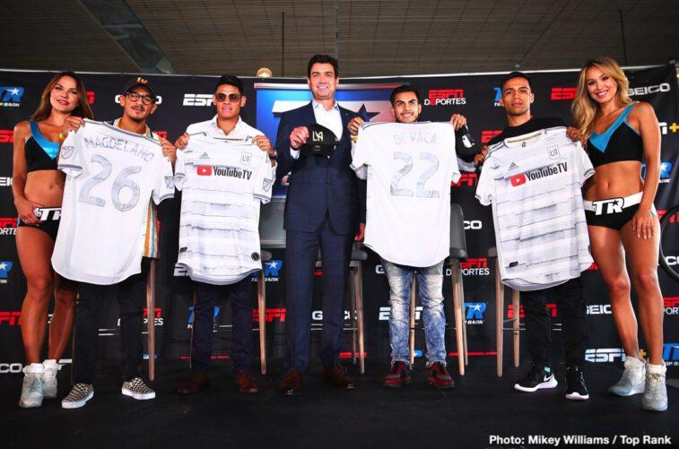 Emanuel Navarrete, Francisco De Vaca, Jessie Magdaleno, Rafael Rivera - Press Room