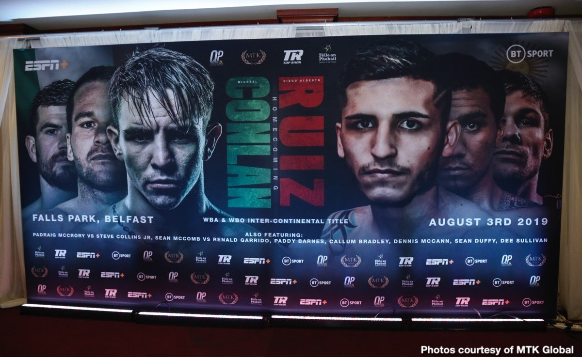 Conlan vs Ruiz - Final press conference quotes & photos