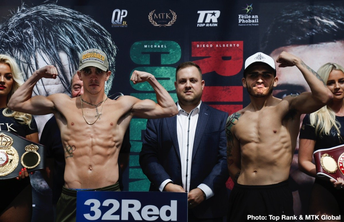 Diego Alberto Ruiz, Michael Conlan - https://www.youtube.com/watch?v=DI1F4DQbsZs