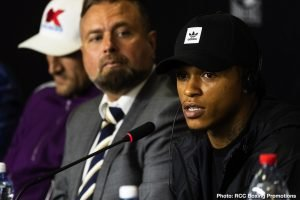 "Dec Spelman - In a three-man press conference ahead of Friday's BT Sport main event between Lyndon Arthur and Dec Spelman, 'The Beast' Anthony Yarde told his competition to ""shut up"", saying ""if we're not fighting, I'm not responding… you don't matter."""