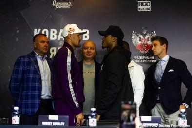 Anthony Yarde Sergey Kovalev Boxing News Top Stories Boxing