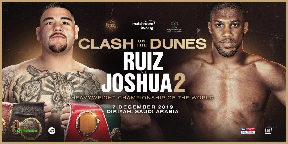 Andy Ruiz Anthony Joshua Deontay Wilder Boxing News
