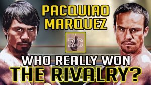 Juan Manuel Marquez - There have been many awesome rivalries during the long rich history of professional boxing, and in the last fifteen years or so, Pacquiao vs Marquez is almost certainly the most famous among them.