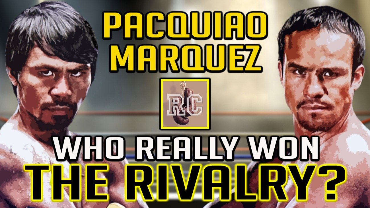 Juan Manuel Marquez, Manny Pacquiao - There have been many awesome rivalries during the long rich history of professional boxing, and in the last fifteen years or so, Pacquiao vs Marquez is almost certainly the most famous among them.