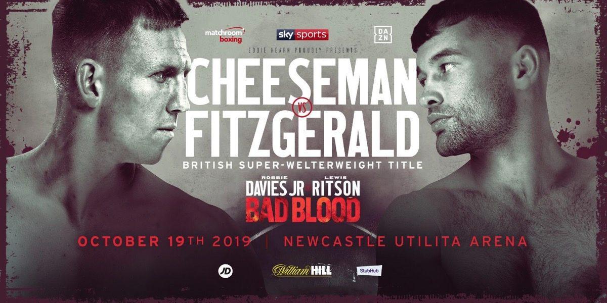 Scott Fitzgerald Ted Cheeseman British Boxing Press Room