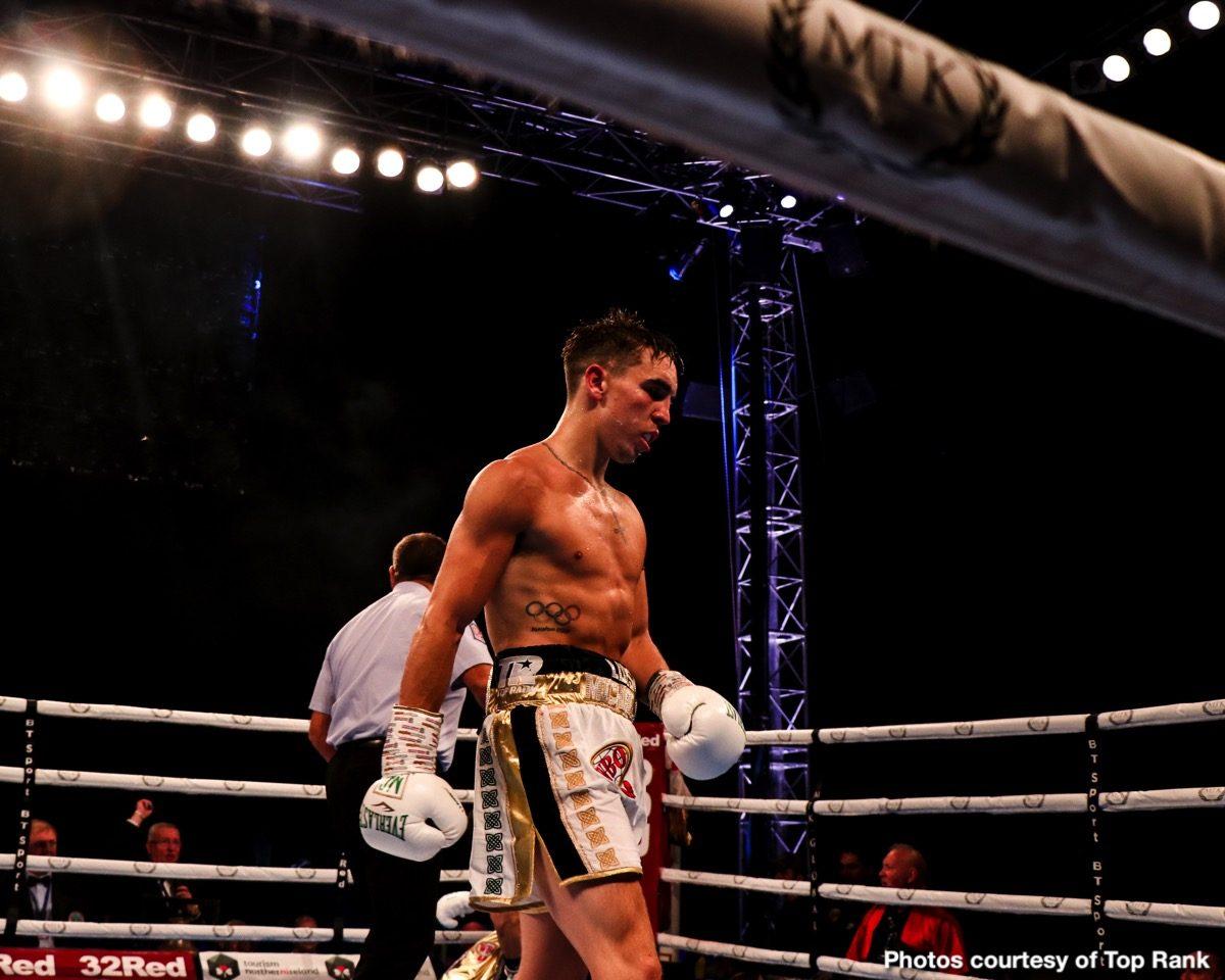 Diego Alberto Ruiz Michael Conlan Boxing News Boxing Results