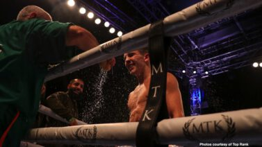 Diego Alberto Ruiz, Michael Conlan - The sold-out crowd of around 10,000 at Falls Park came to see Michael Conlan put on a memorable show. Conlan, Belfast's featherweight fistic superhero, stepped on the gas late and knocked out veteran Diego Alberto Ruiz in the ninth round of a scheduled 10-rounder Saturday evening under the lights.