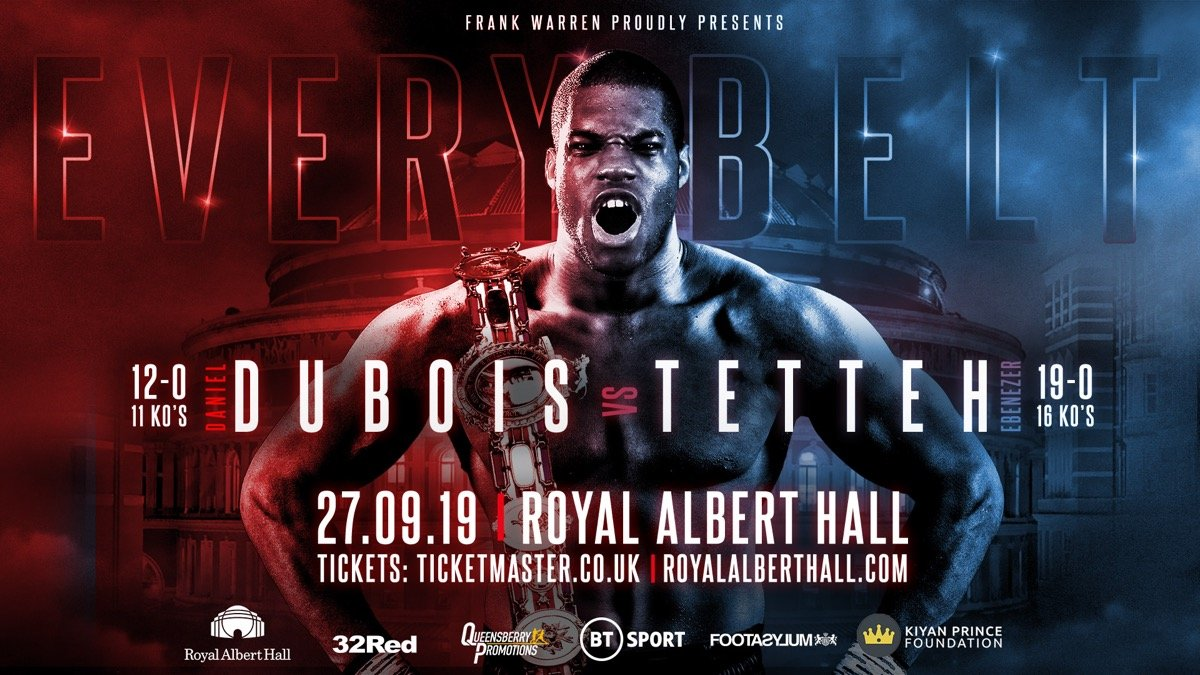 Daniel Dubois - FRANK WARREN has compared rising heavyweight sensation Daniel Dubois with all time great Larry Holmes.