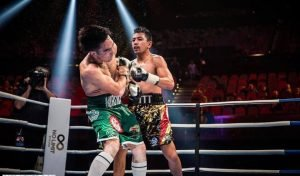 Steve Gago - Steve Gago produced arguably a career-best display this week as many saw him beating former Kazak amateur standout Nursultan Zhangabayev in a fight which had the WBA Inter-Continental, WBO Global and IBF Australiasian Welterweight title on the line.