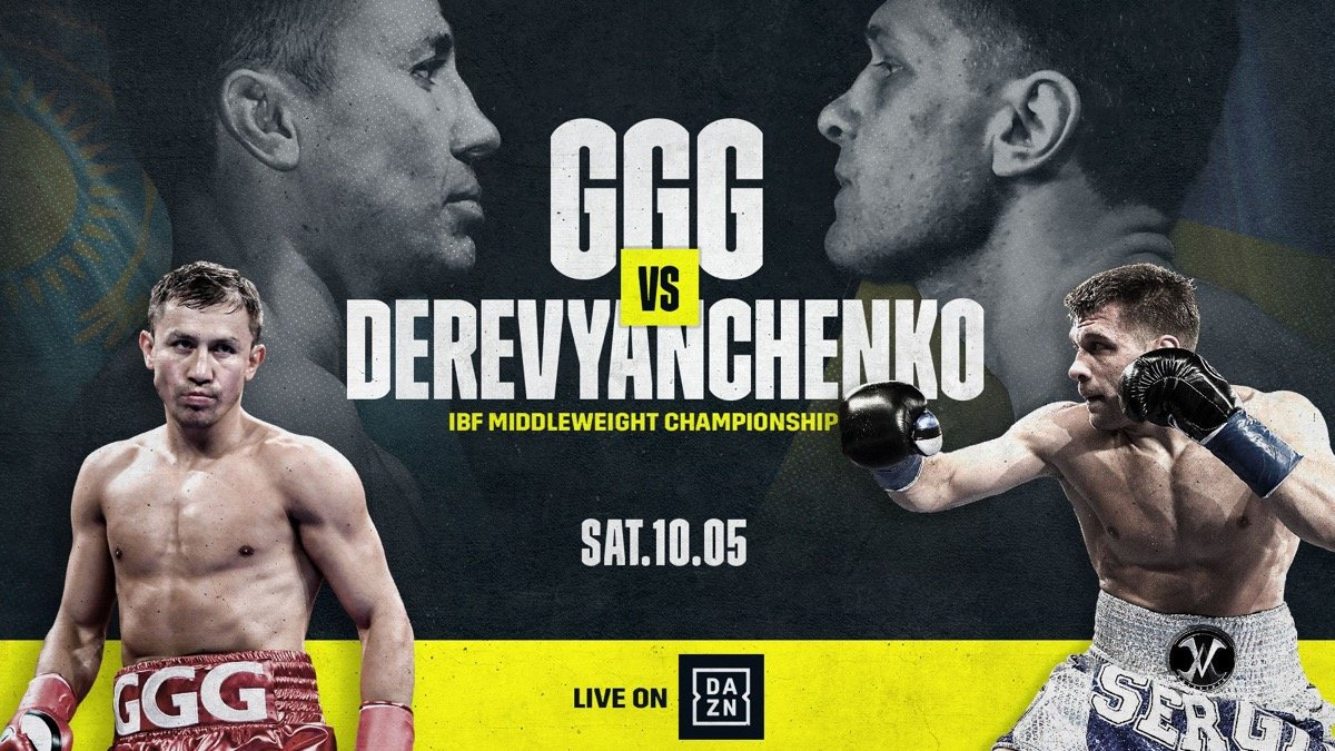 "Gennady Golovkin, Sergey Derevyanchenko - Gennadiy ""GGG"" Golovkin: On how his excitement level differs this title fight vs. last MSG brawl: ""I feel great, I feel like a champion. Every fight for me is like a championship fight. I feel the same. All my fights, last fight, this fight, it's the same level of excitement."""