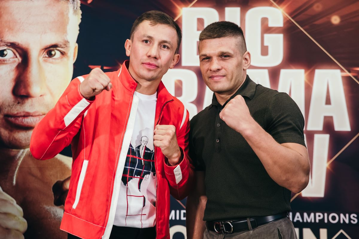 Andy Ruiz - Gennady Golovkin says he views his opponent Sergiy Derevyanchenko as a good test for him on October 5 on DAZN. The two Olympians Golovkin (39-1-1, 35 KOs) and Derevyanchenko (13-1, 10 KOs) will be fighting for the vacant IBF middleweight title.