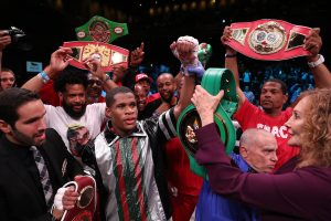 Zaur Abdullaev - Devin Haney can take a giant leap towards World title glory when he faces fellow unbeaten star Zaur Abdullaev in a final eliminator for the WBC World Lightweight title on Friday September 13 at the Hulu Theater in Madison Square Garden, New York, live on DAZN in the US and on Sky Sports in the UK.