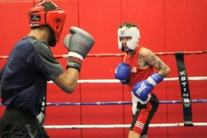 Nico Hernandez - 2016 Olympic bronze medalist Nico Hernandez recently returned to the U.S. Olympic and Paralympic Training Center in Colorado Springs to train and spar with members of Team USA's 2019 Elite Men's team.