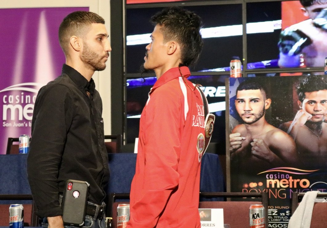 """The time is coming for world title boxing to return to Puerto Rico. This Saturday, August 24, the Island will have such a fight when the WBO minimum weight champion, Filipino Vic Saludar, defends his belt against Puerto Rican Wilfredo """"Bimbito"""" Méndez in another edition of the """"Casino Metro Boxing Nights """", presented by PR Best Boxing Promotions (PRBBP) in association with Spartan Boxing, Puerto Rico Convention Center in San Juan that will be broadcast live on Wapa Deportes."""