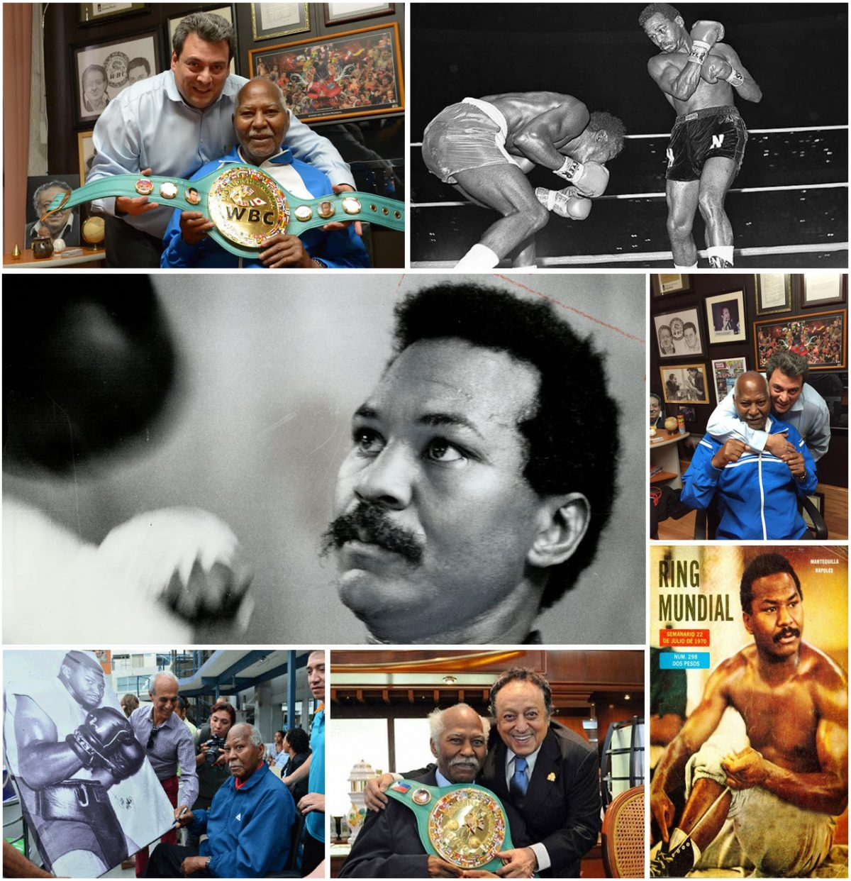 Jose Angel Napoles Boxing History Press Room