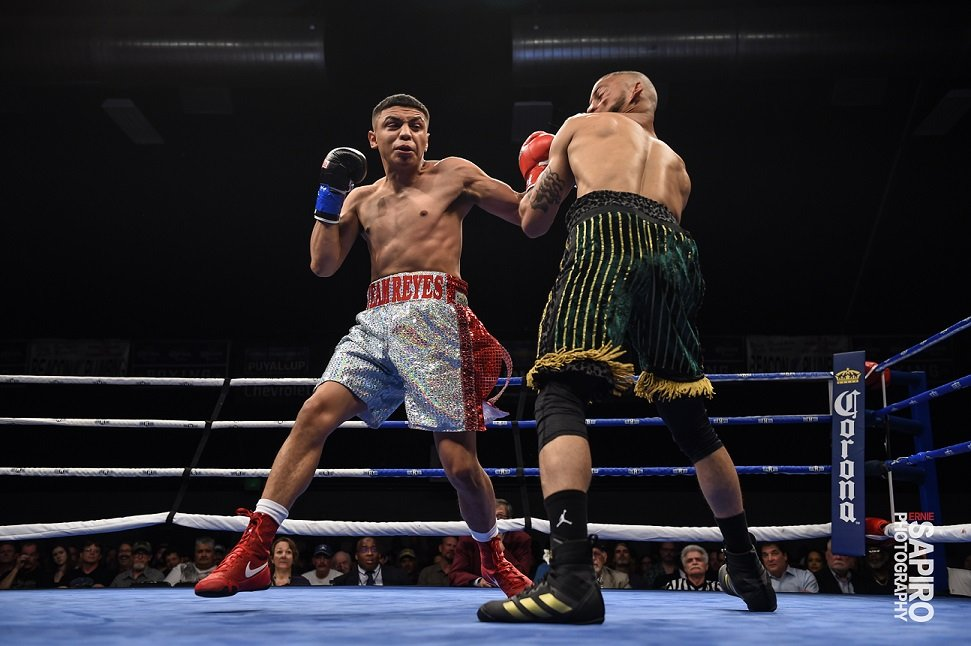 Cris Reyes predicted a victory via third-round knockout in his last fight.