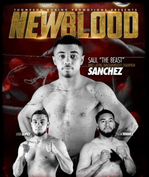 Saul Sanchez - Unbeaten bantamweight prospect Saul Sanchez (12-0, 7 KOs) makes his main event debut against Edwin Rodriguez (10-5-1, 5 KOs) this Friday, Aug. 23, from Omega Products International in Corona, Calif.