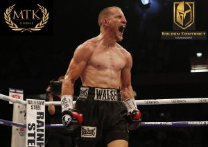 Ryan Walsh -  It's tournament time. The Golden Contract featherweight tournament, presented by MTK Global, will kick off Friday at London's York Hall with 10-round quarterfinal bouts beginning at 3 p.m. ET/12 p.m. PT on ESPN+, the leading multi-sport streaming service.