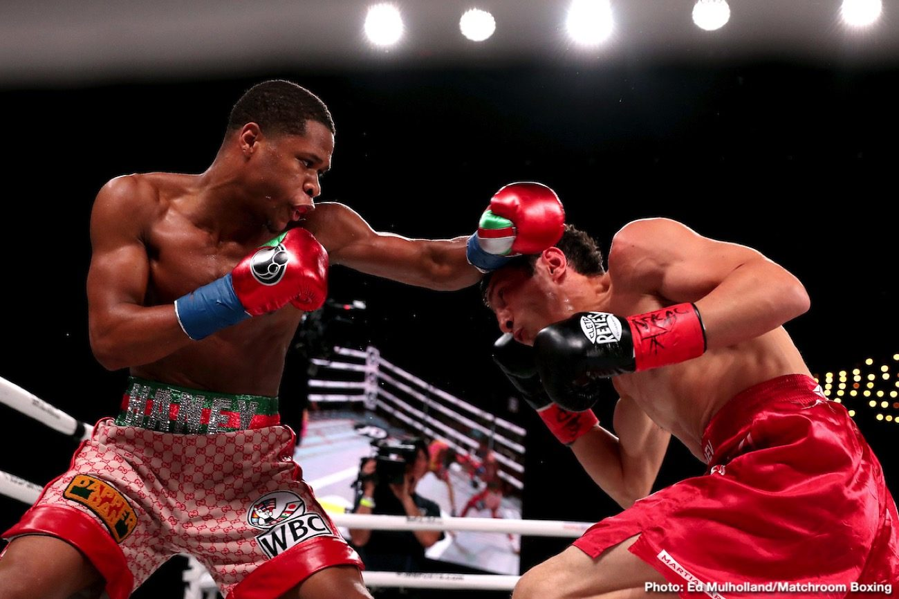 Devin Haney, Yuriorkis Gamboa - Devin Haney says he wants to beat former featherweight champion Yuriorkis Gamboa worse than Terence Crawford and Gervonta 'Tank' Davis did. Haney (24-0, 15 KOs) is in negotiations with former IBF/WBA 126-pound champion Gamboa (30-3, 18 KOs) for his next fight.