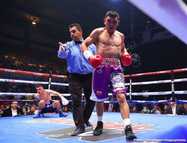 Jesus Cuadro Joseph Diaz Boxing News Boxing Results