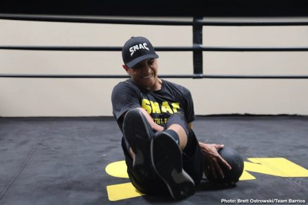 Batyr Akhmedov Mario Barrios Boxing News