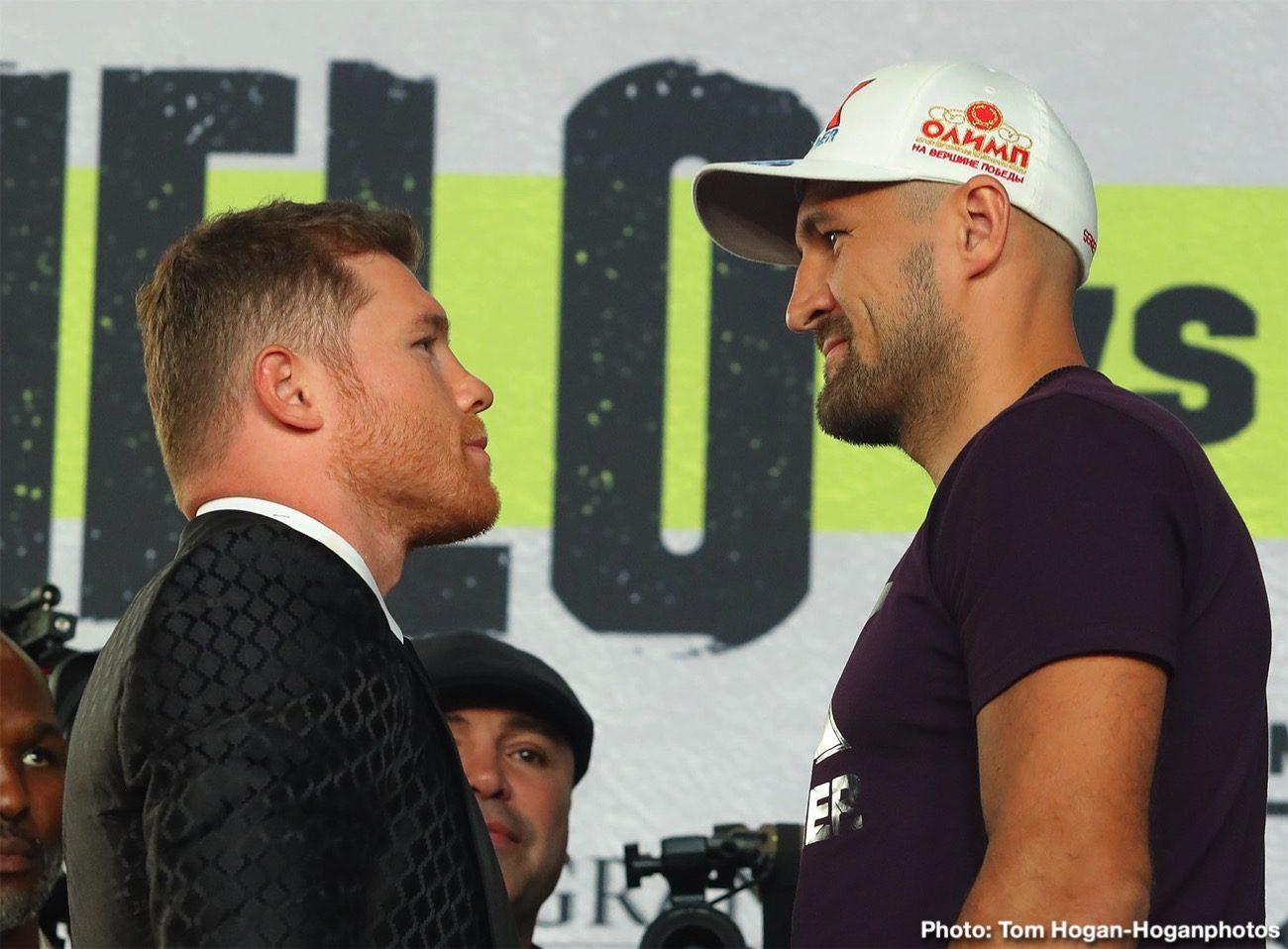 Canelo Alvarez Sergey Kovalev Boxing Interviews Boxing News