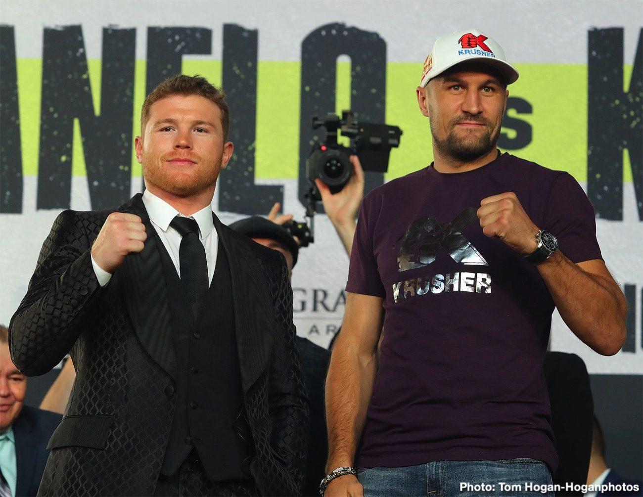 """Saul """"Canelo"""" Alvarez Sergey Kovalev Boxing News"""