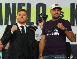 "Canelo Alvarez - On Saturday, November 2, Canelo Alvarez (51-1-2, 34 KOs) will take on a new challenge as he moves into the 175-pound weight class in a 12-round fight against Sergey ""Krusher"" Kovalev (34-3-1, 29 KOs) for Kovalev's WBO Light Heavyweight World Title.This highly anticipated bout and its co-featured fights will be broadcast live from MGM Grand in Las Vegas to big screens across the nation.A full undercard will be shown prior to the main event."