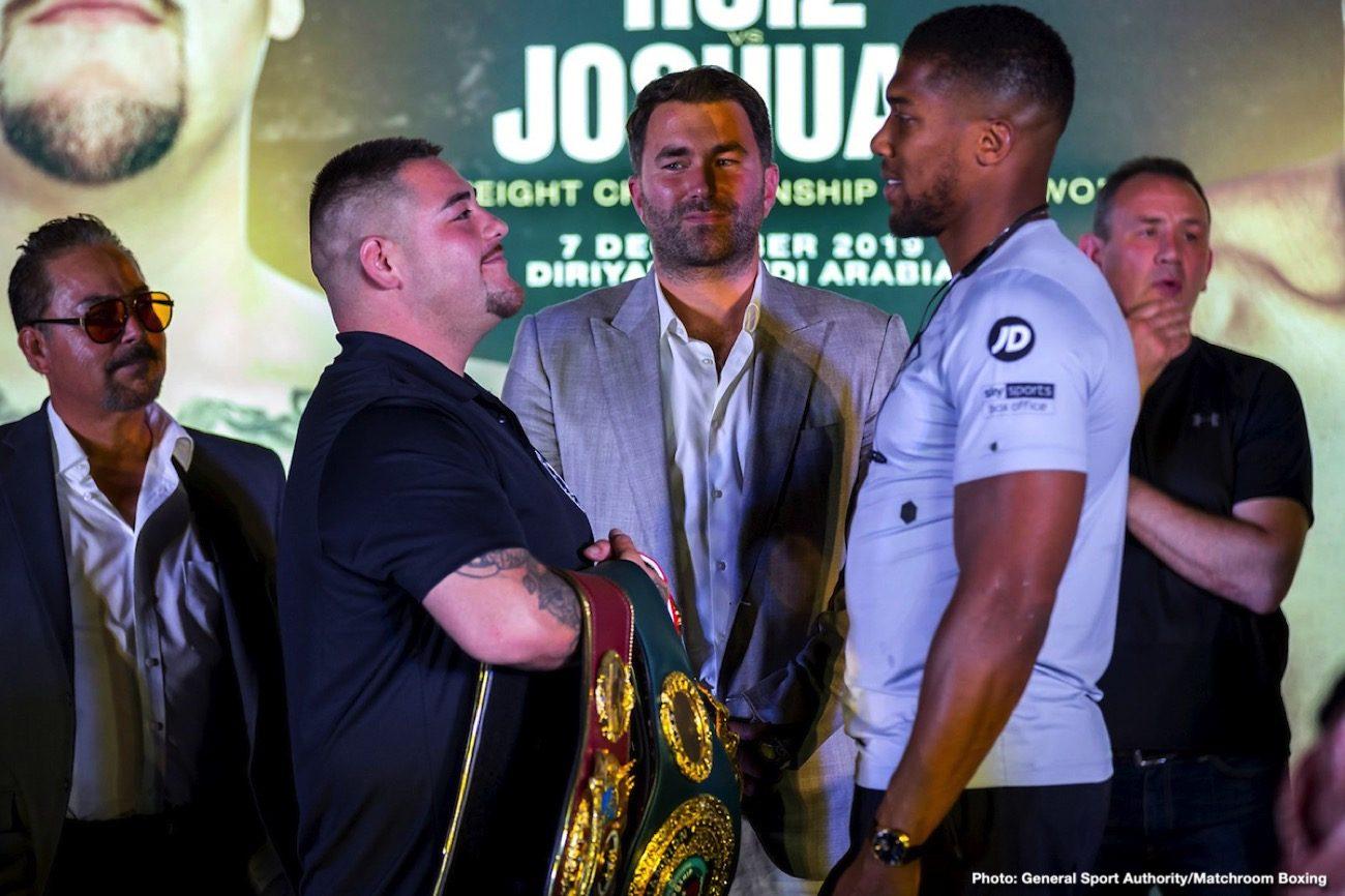 Andy Ruiz Anthony Joshua Boxing News British Boxing