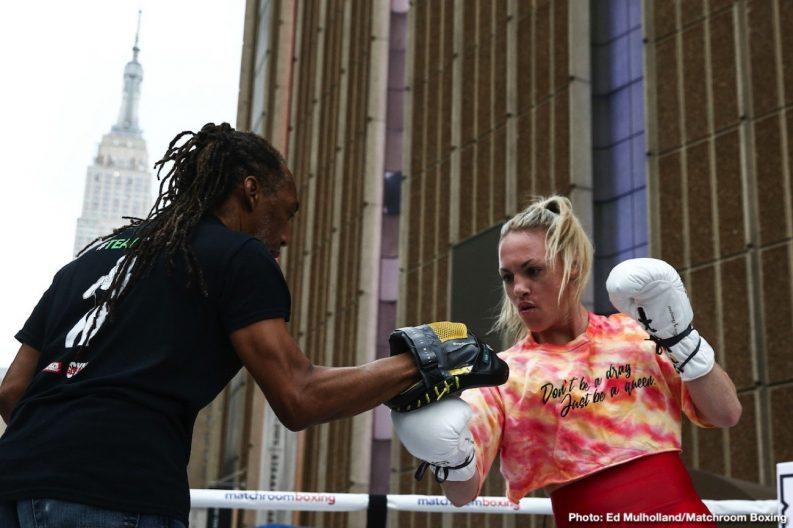 Amanda Serrano Devin Haney Heather Hardy Michael Hunter Murodjon Akhmadaliev Sergey Kuzmin Zaur Abdullaev Boxing News
