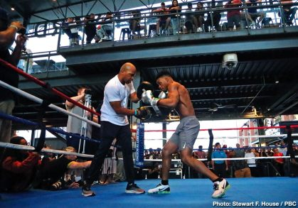 Errol Spence Shawn Porter Boxing News Top Stories Boxing
