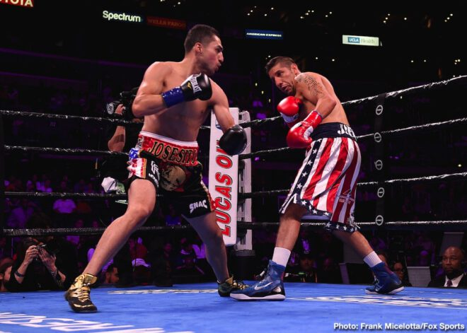 Anthony Dirrell, Batyr Akhmedov, David Benavidez, Errol Spence, John Molina, Josesito Lopez, Mario Barrios, Shawn Porter - Boxing News