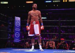 Anthony Dirrell, Batyr Akhmedov, David Benavidez, Errol Spence, John Molina, Josesito Lopez, Mario Barrios, Shawn Porter - IBF welterweight champion Errol 'The Truth' Spence Jr (26-0, 21 KOs) was forced to fight tooth and nail to defeat WBC champion 'Showtime' Shawn Porter (30-3-1, 17 KOs) by a 12 round split decision on Saturday night in a war at the Staples Center in Los Angeles, California.