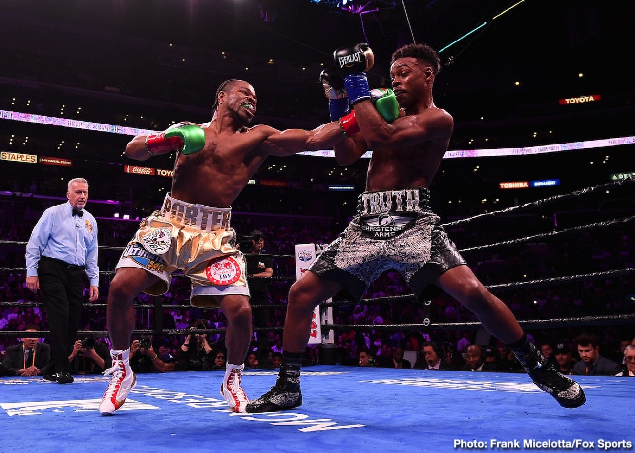 Errol Spence Shawn Porter Boxing News Boxing Results Top Stories Boxing